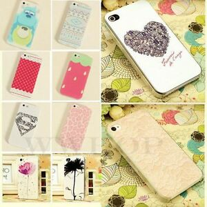New-Hot-Paint-Pattern-Phone-Hard-Back-Skin-Case-Cover-for-Apple-IPhone-4-4S-5-5S