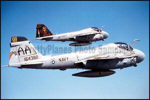 USN-A-6-Intruder-VA-75-CVN-65-VA-196-CVN-70-1996-8x12-Photo
