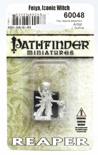 Female Mage /& Fox Familiar Wizard Pathfinder Reaper 60048 Feiya Iconic Witch