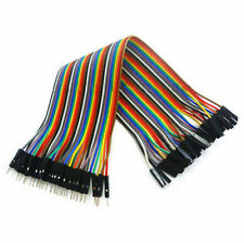 Jumper 2016 40Pcs Male to Female Cable 20cm Wire for Arduino Breadboard Dupont