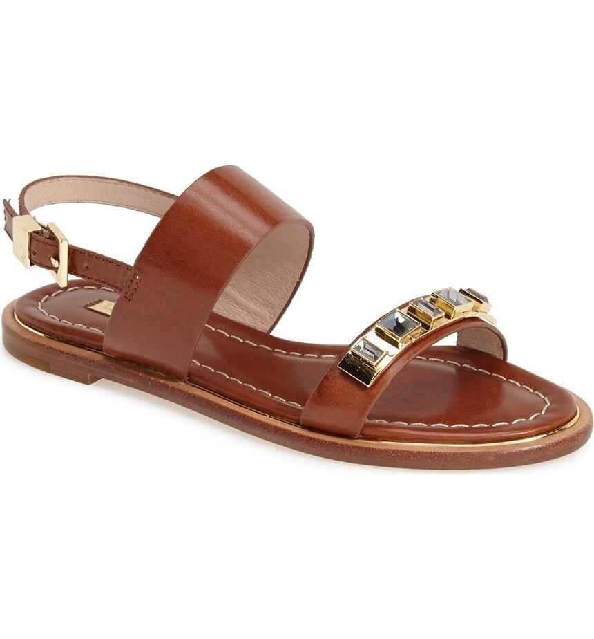 NEU  Louise et Cie Blithe' Embellished Double  Sandales sz 7