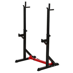 Barbell-Stand-Weight-Lifting-Stands-Adjustable-Gym-Family