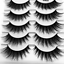5-Pairs-100-Real-Mink-3D-Volume-Thick-Daily-False-Eyelashes-Strip-Lashes-TKL thumbnail 38