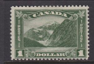 CANADA 1930 MINT H SC #177 $1 MOUNT EDITH CAVELL CAT $175