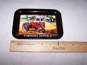 Model Super C Featured Farmall Tractors New Metal Sign