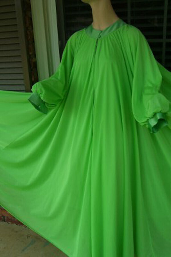 """Vintage LUCIE ANN 306"""" Sweep Dressing Gown or Pei… - image 3"""