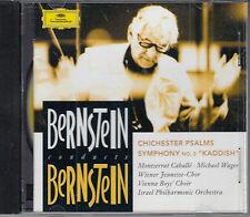 "Bernstein: Chichester Psalms; Symphony No.3 ""Kaddish"" Israel PO CD FASTPOST"