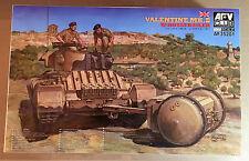 AFV CLUB AF35201 - 1/35 VALENTINE Mk.III w/ROTATRAILER - NUOVO