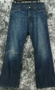 Mens-29-X-30-Lucky-Brand-Western-Bootleg-Zip-Fly-Jeans