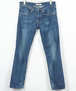 Levis-519-Slim-Fit-Jeans-Stretch-Cotone-Elastan-da-Uomo-Misura-W34-L32
