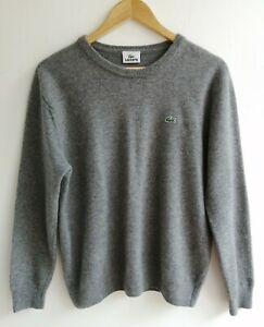 LACOSTE-DEVANLAY-PURE-LAINE-VIERGE-Pull-Taille-6