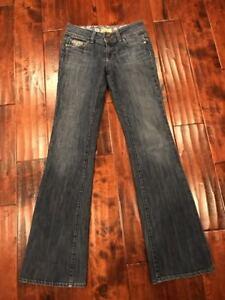 Paige-034-Hidden-Hills-034-Boot-Cut-Jeans-Size-26