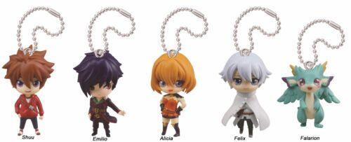 Endride Swing Mascot PVC Anime Keychain SD Figure ~ Set of Five @83673