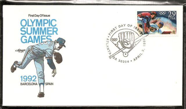 US SC   2619 Olympic Baseball FDC. Artmaster Cachet e37500b458e