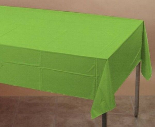 "PAPER TABLE CLOTH CLOTHS TABLECOVERS, ROUND 82"" , OBLONG 54"" X 108""...23 COLOURS"