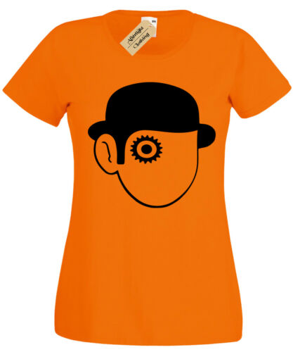 Uhrwerk Orange T-Shirt Damen Retro-Film Kult Klassisch