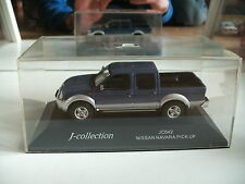 J-Collection Nissan Navara Pick Up in Blue on 1:43 in Box