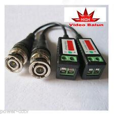 Passive Video Balun Connector Cat5 for CCTV Home Surveillance Security Camera