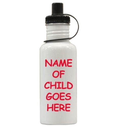 Personalized Super Mario Luigi Brothers Water Bottle