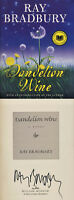 Ray Bradbury Signed Autographed Dandelion Wine Very Rare/desired Hc (dec)