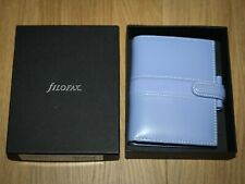 Filofax Mini Piazza Personal Organiser Violet Purple Deluxe Smooth Leather