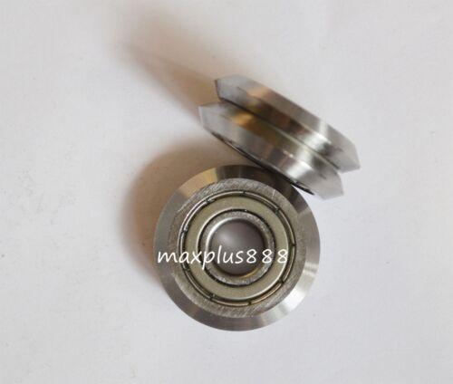 RM-3ZZ 1pcs Brand new W3ZZ 12*45.72*15.88mm W Groove Ball W//V vgroove Bearing