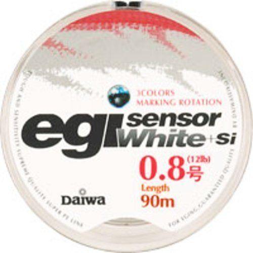 Daiwa PE LINE Egi Sensor White+Si 150m  White  Fishing LINE From JAPAN  up to 60% off