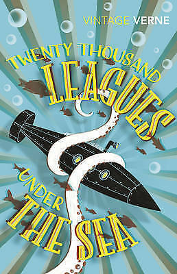 Twenty Thousand Leagues Under the Sea by Jules Verne (Paperback) New Book