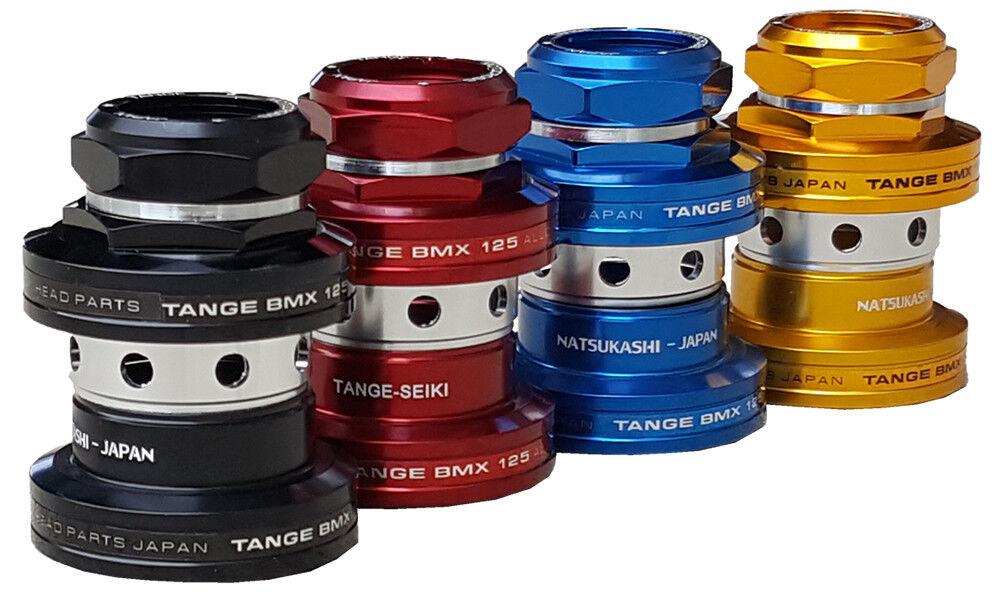 Genuine Tange MX 125 Aluminium Headsets - Old School BMX Style
