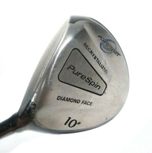 Purespin-Diamond-Face-10-Degree-Driver-amp-Straight-Fat-Shaft-Made-With-KEVLAR-LH