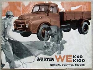 AUSTIN WE NORMAL CONTROL TRUCKS Commercial Sales Brochure 1960s #2106/A