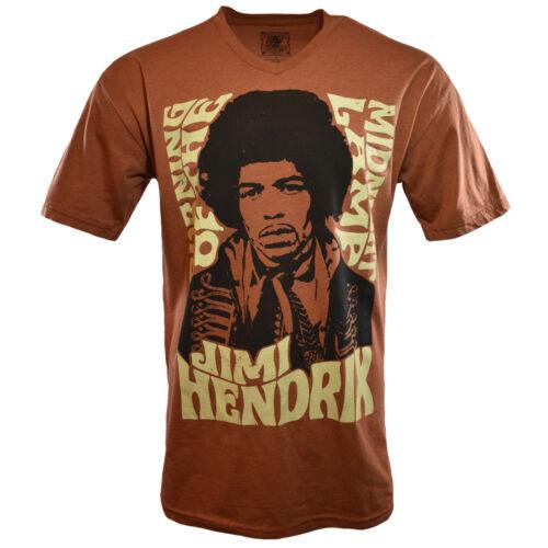 JIMI HENDRIX Mens Tee T Shirt Rock Guitar Music Vintage s Sleeve Guitar NEW