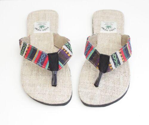 Flip Flops Summer Hemp Eco Flip Flops Slippers Sandals Unisex Mens Women Beach