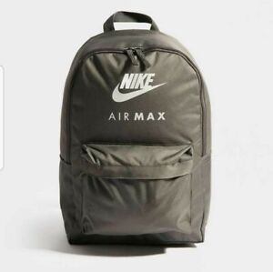 Détails sur Nike Air Max Grey Sac à dos afficher le titre d'origine