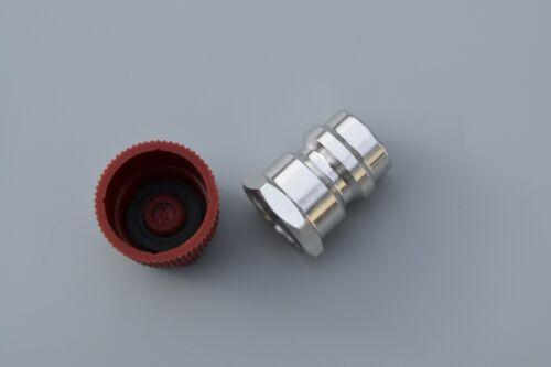 1x Retrofit Hochdruck Anschluss Adapter Klimaanlagen Umrüstsatz R12 auf R134a