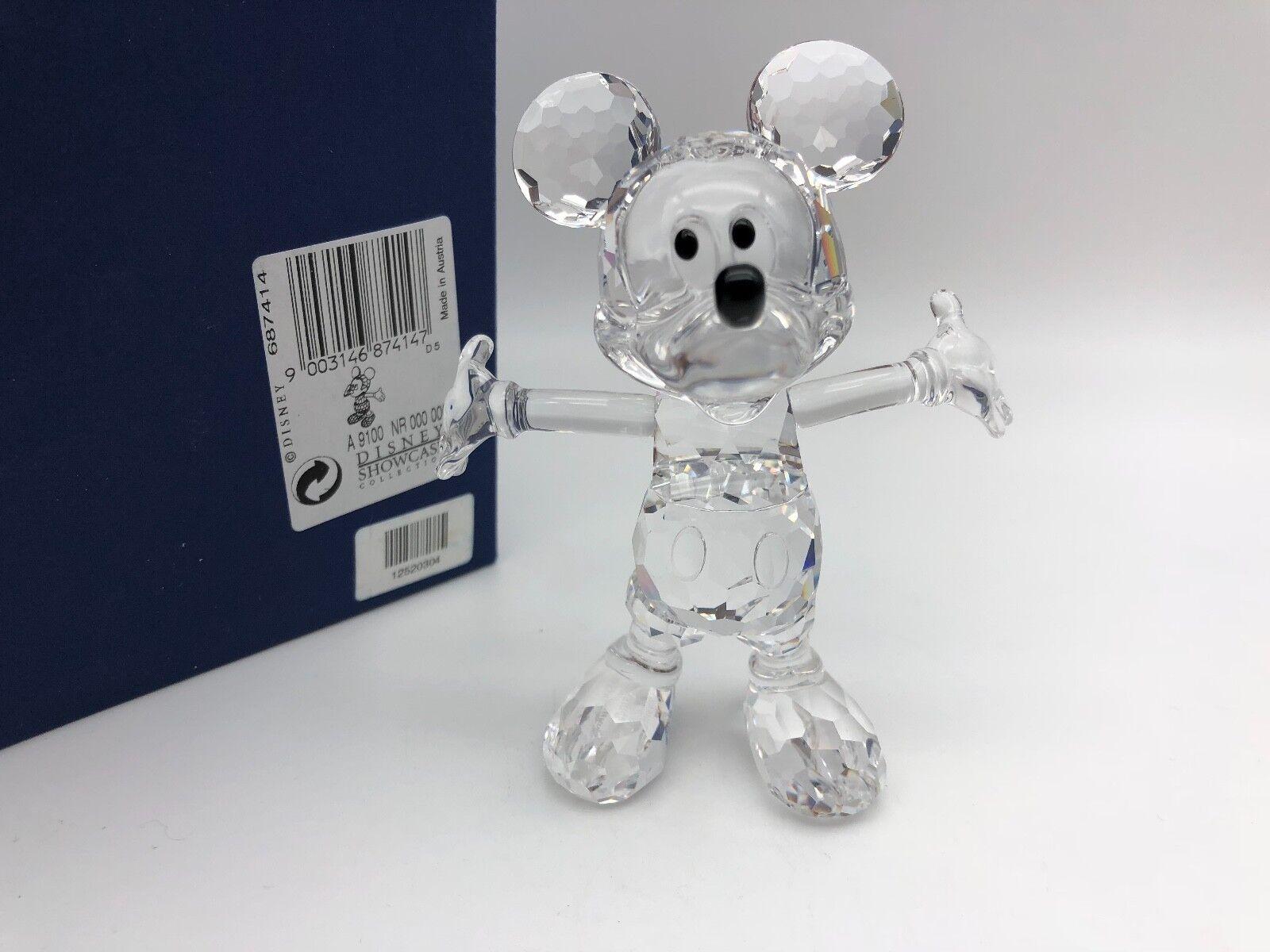 Swarovski Figurine 687414 Disney Mickey Mouse Souris 10 cm avec avec avec neuf dans sa boîte & certificat. | Aspect Attrayant  d393d6