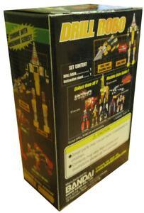 Model Transforming Drill Robo Machine Robo Rescue Mrr Drill 3 7/8in Bandai Robot