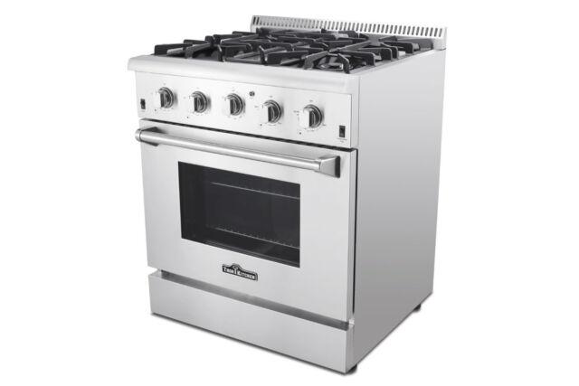 Thor Kitchen 30 Inch Freestanding Gas Range Stainless Steel Hrg3080u For Sale Online Ebay
