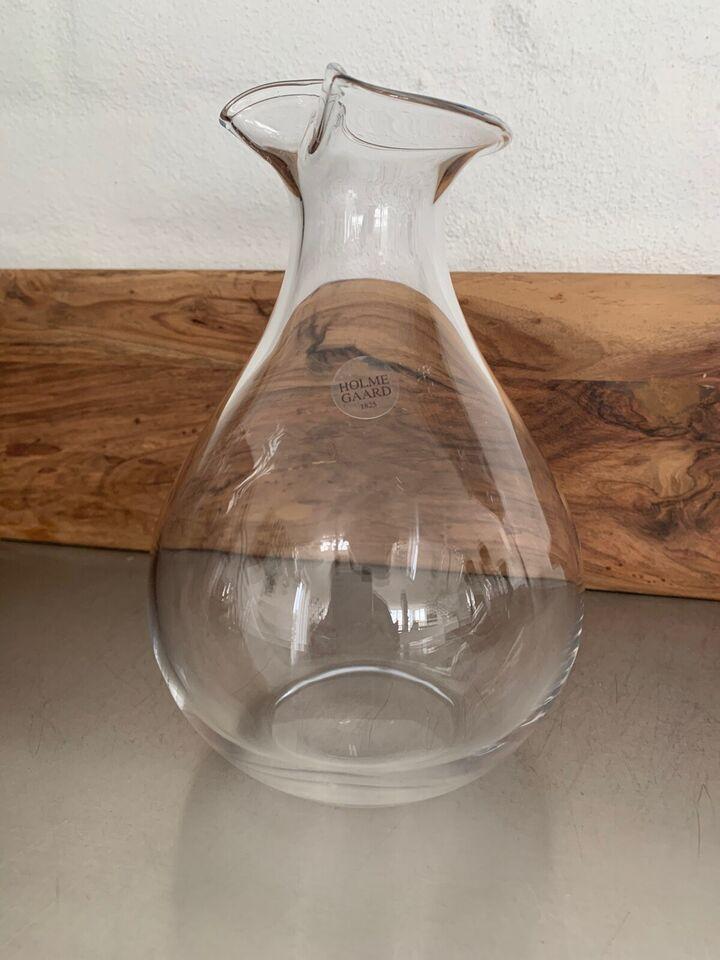 Glas, Vandkaraffel, Holmegaard