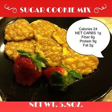 SUGARLESS SUGAR COOKIE MIX (gluten free, no sugar added, weight loss, low carb)