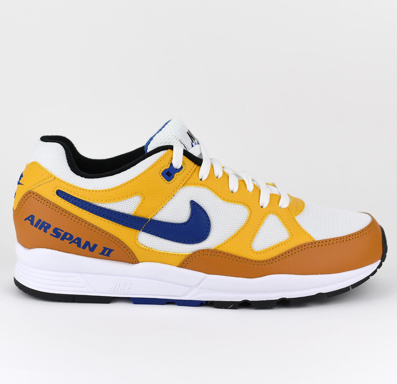 Nike Air Span II 2 Men Lifestyle Sneakers shoes New Yellow Ochre AH8047-700