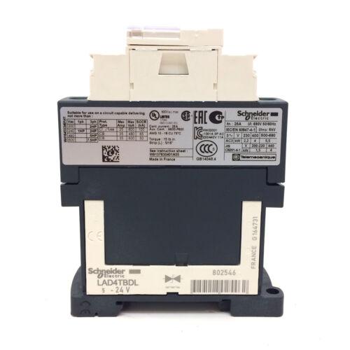 Contactor LC1D09BL Schneider 24VDC 4kW 036107