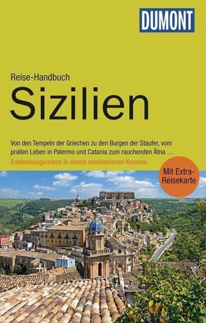 Sizilien Italien 2015 ! UNGEL Palermo Catania Ätna + Karte Dumont Reise-Handbuch