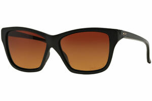 Oakley-Hold-On-OO9298-01-Matte-Black-Square-Frame-Polarized-Brown-Gradient-Lens