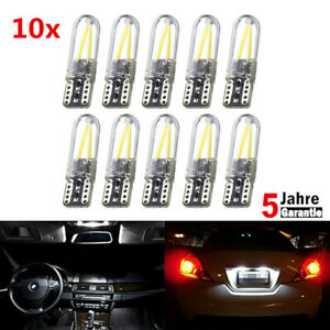 10x-T10-Auto-Standlicht-SMD-LED-Canbus-COB-Lampe-Weiss-6000K-12V-Hot