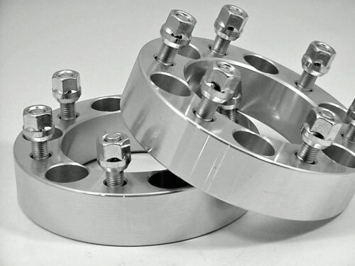 2 Pc Fit LAND CRUISER 6 LUG WHEEL ADAPTER SPACERS 1.25 Inch # 6550B1215