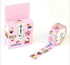 NEW-Design-15mm-7M-DIY-paper-Sticky-Adhesive-Sticker-Decorative-Washi-Tape-HOT