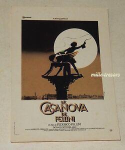 CP-Le-CASANOVA-de-FELLINI-Film-de-Federico-FELLINI-Collection-GAUMONT-RAMSAY
