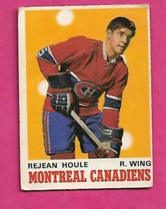 1970-71-OPC-174-CANADIENS-REJEAN-HOULE-ROOKIE-GOOD-CARD-INV-C4768