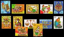 INDIA Indepex-2011-Astrological Signs-set of 12 stamps, MNH